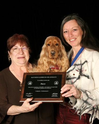 Fondation Corazon du Québec - Chien d'assistace médicale - Anne-Marie Josée Gauthier