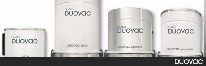 Aspirateurs centraux - Duovac