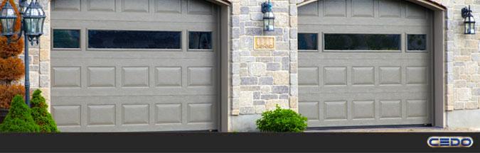 Portes de garage - Cedo